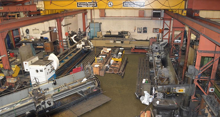 Workshop for Martin & Taylor Engineers Ltd